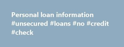 17 Best ideas about Loan With No Credit on Pinterest | Loans for students, No credit loans and ...