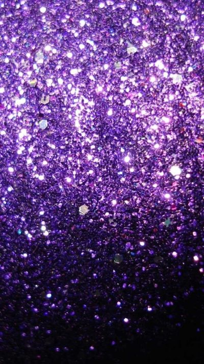 Purple Glitter   SHADES OF PURPLE   Pinterest   Girly, Wallpapers and Purple Sparkle