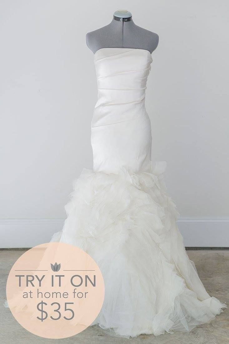 vera wang wedding dresses borrow wedding dress Vera Wang Kathleen Size 2 Borrow this designer gown for 75