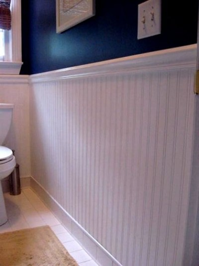 Beadboard Wallpaper | White nautical bathrooms, Bead board bathroom and Beads