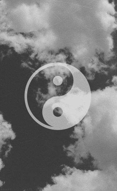 tumblr iphone wallpaper hipster - Google Search | Phone | Pinterest | Yin yang, papeis de parede ...