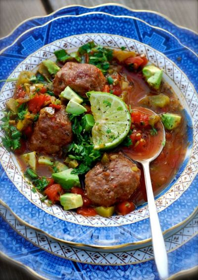25+ best ideas about Mexican meatball soup on Pinterest | Mexican soup recipes, Albondigas soup ...