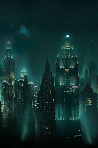 25+ Best Ideas about Bioshock Artwork on Pinterest | Bioshock, Bioshock art and Bioshock game