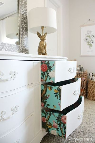 231 best images about Inside Drawer Detail on Pinterest | Milk paint, Decoupage and Lining drawers