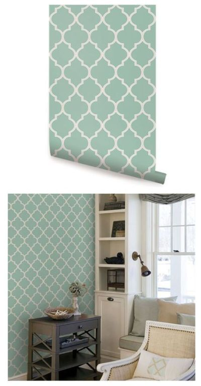 1000+ images about Peel And Stick Wallpaper on Pinterest   Wall decor, Two tones and Classic ...