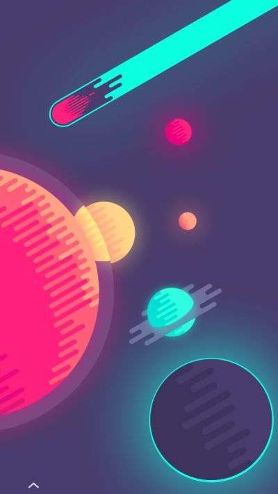 Galaxy Space. Tap to see Hype iPhone Wallpapers Collection. Trendy cool abstract iPhone ...