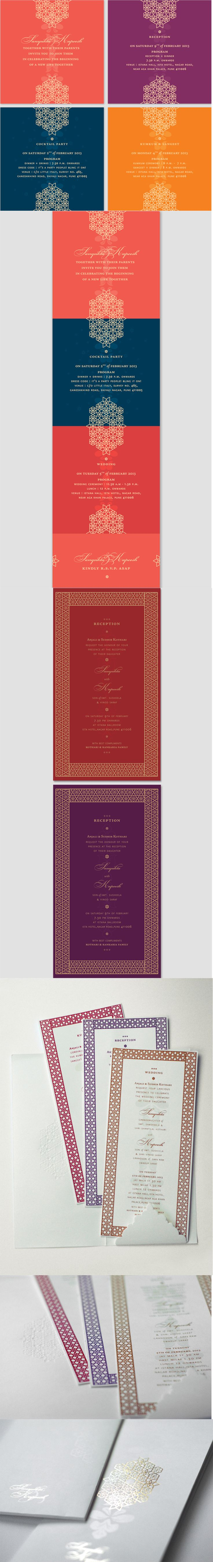 indian wedding cards indian wedding invitation s love the colours love the line pattern that connects even borders on Indian Wedding CardsIndian Wedding InvitationsWedding
