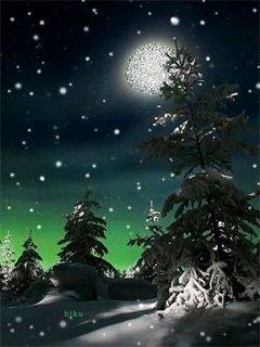 Зима - анимация на телефон №1097495 | GIF Winter | Pinterest
