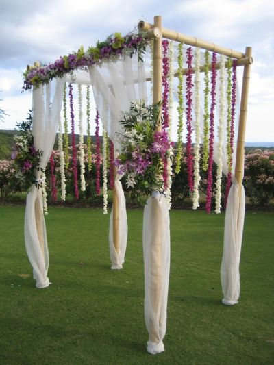 17 Best ideas about Bamboo Wedding Arch on Pinterest ...