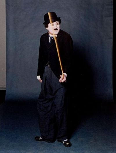 Cary Grant as Charlie Chaplin (photo by Bert Stern for ...