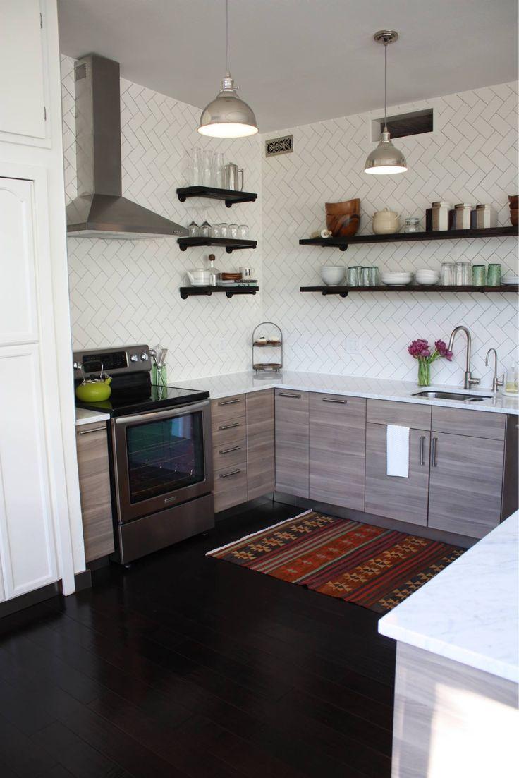 my diy kitchen renovation diy kitchen remodel DIY Kitchen Renovation Remodel Before and After Boulder Co Ikea Sofielund cabinets