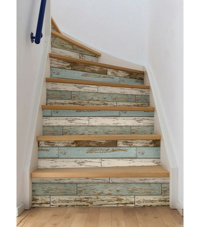 25+ best ideas about Wallpaper Stairs on Pinterest | Tile on stairs, Shabby chic wallpaper and ...