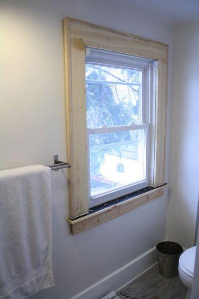 1000+ ideas about Molding Around Windows on Pinterest | Window moulding, Window trims and Window ...