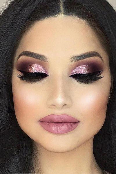 25+ Best Ideas about Night Makeup on Pinterest   Gold eye ...