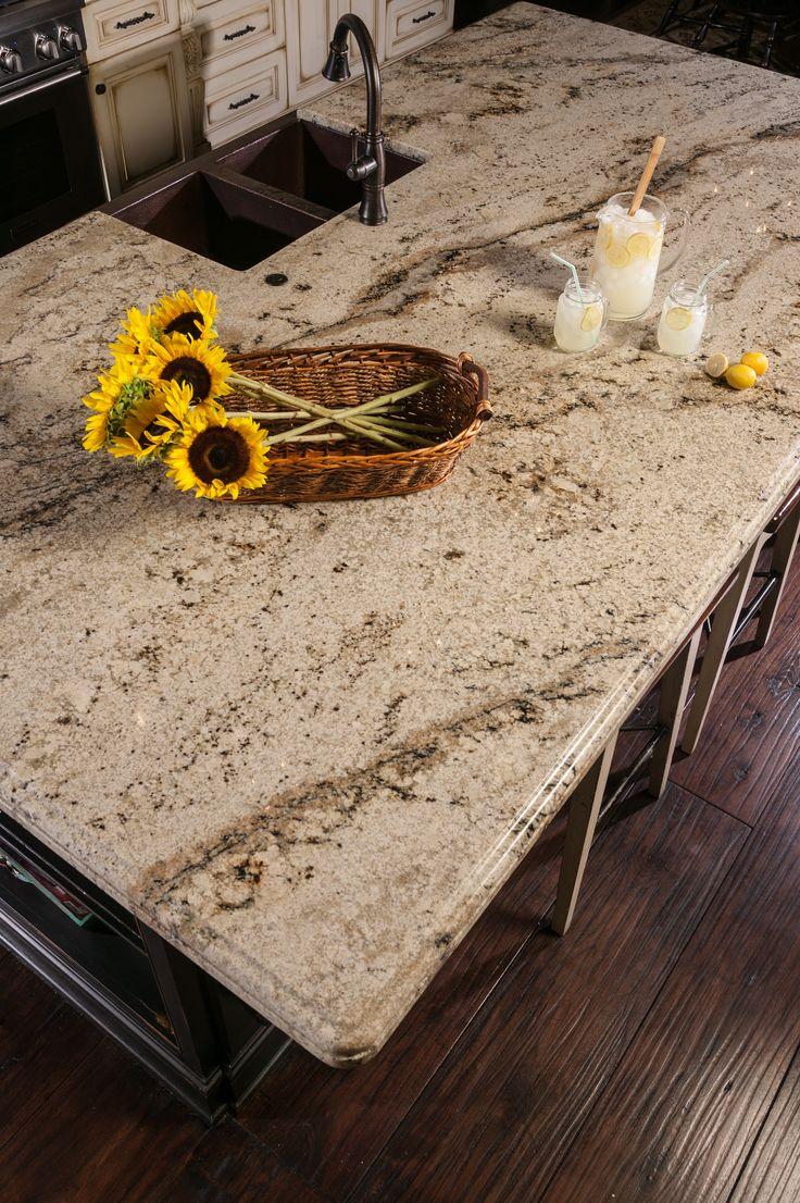 granite edges kitchen granite countertops Beautiful sienna beige granite countertops in kitchen