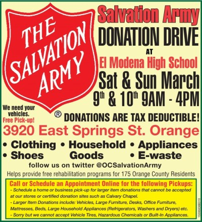 35 best images about OC Salvation Army on Pinterest | Earth day, Earth day 2013 and Army shoes