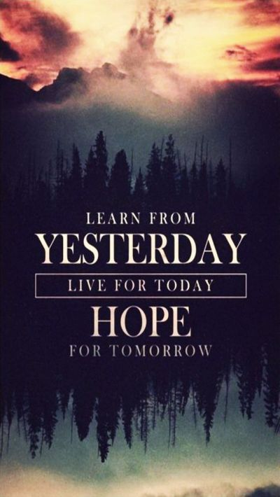 Tap image for more iPhone quote wallpapers! Hope for Tomorrow - @mobile9 | Inspiring quotes ...