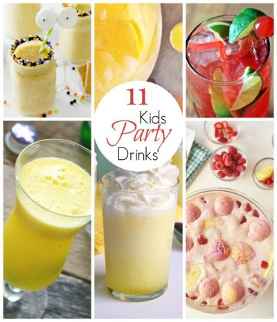 Looking for a great party drink or punch for your next kids' party? Try one of these 11 Amazing ...