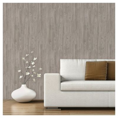 Devine Color Textured Driftwood Peel & Stick Wallpaper - Mirage | Sticks, Wallpapers and Grey