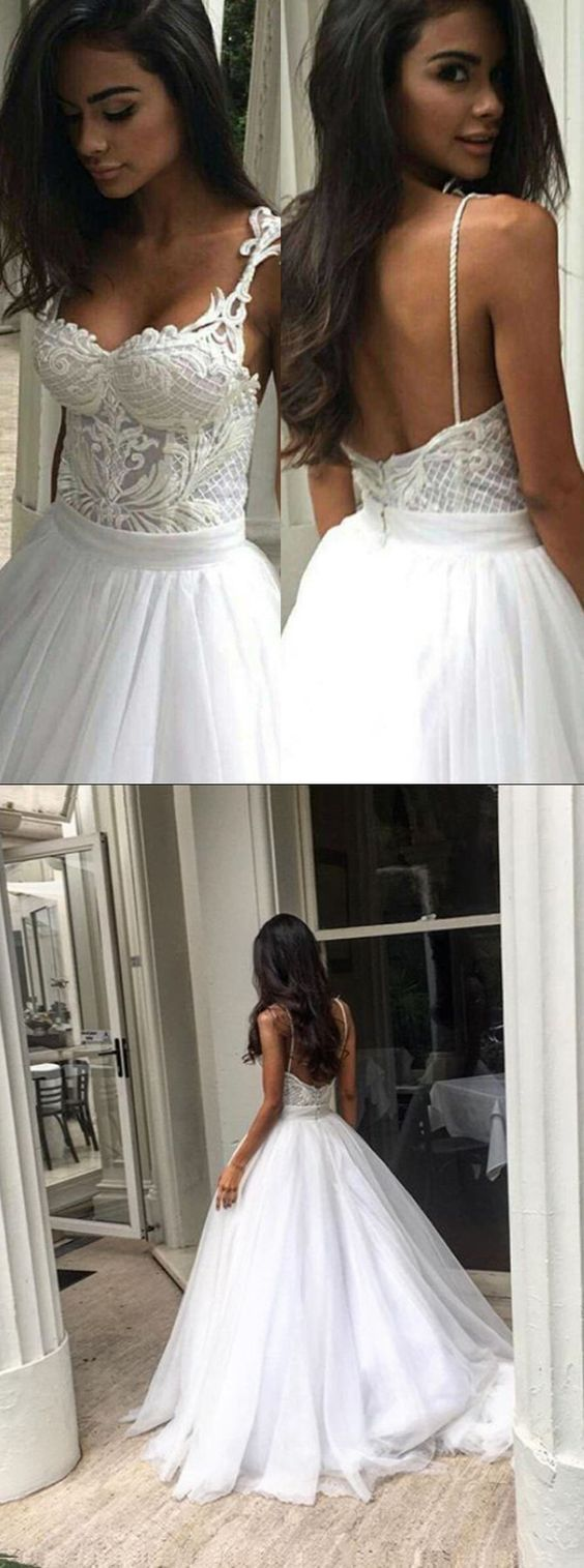 edgy wedding dresses backless wedding dresses wedding dress white wedding dress ball gown bridal dress fall winter wedding dress sold by BanquetGown