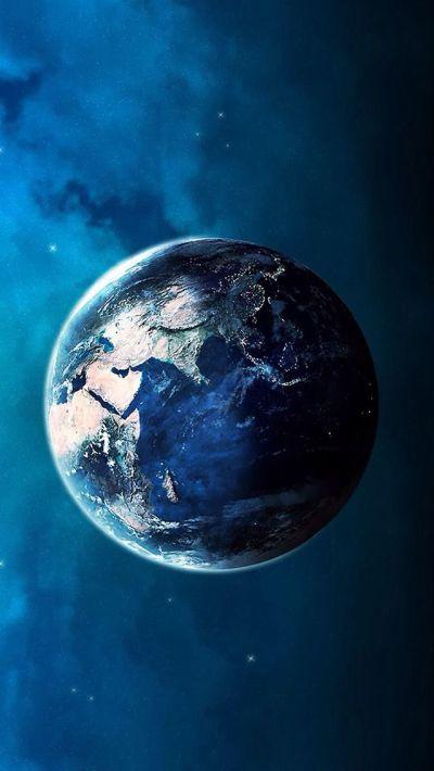 Blue planet #iPhone #5s #Wallpaper | iPhone 5(s) Wallpapers | Pinterest | Iphone 5 wallpaper ...
