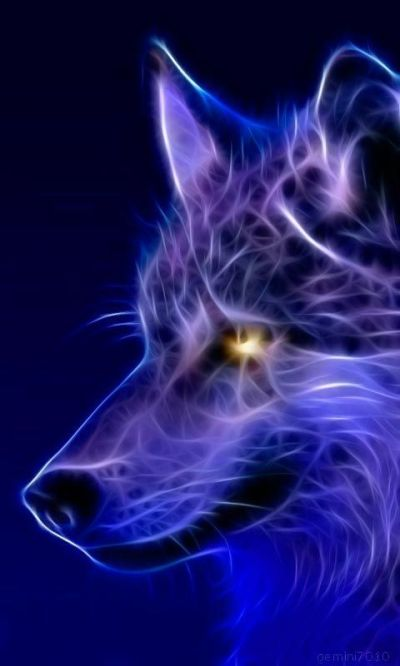 Cool wallpaper, Wolves and Abstract on Pinterest