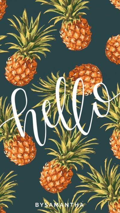 Best 25+ Pineapple wallpaper ideas on Pinterest | Pineapple print, Watermelon background and ...