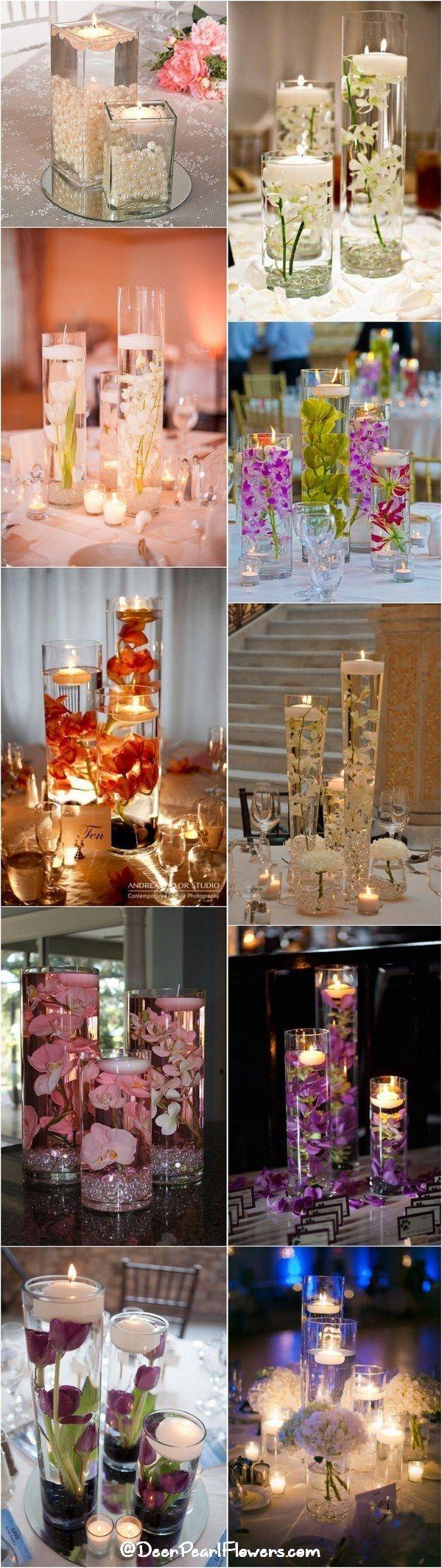 wedding centerpieces wedding centerpiece 20 Impossibly Romantic Floating Wedding Centerpieces