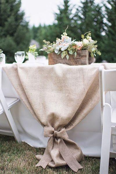 25+ best ideas about Burlap Tablecloth on Pinterest ...