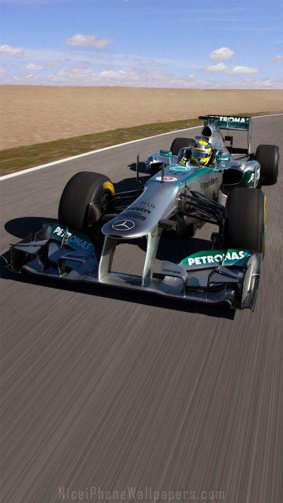 Mercedes-Benz Formula 1 F1 iPhone 6/6 plus wallpaper | Cars iPhone wallpapers | Pinterest ...