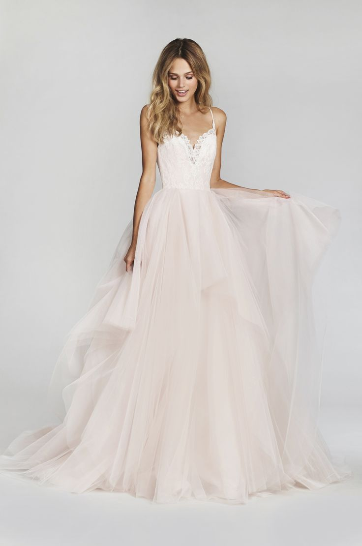 ethereal wedding dress dress for a wedding Bridal Gowns and Wedding Dresses by JLM Couture Style Lilou