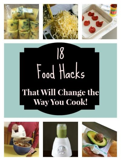 18 Easy Food Hacks That Will Change The Way You Cook! | Something new, Couple and Collage