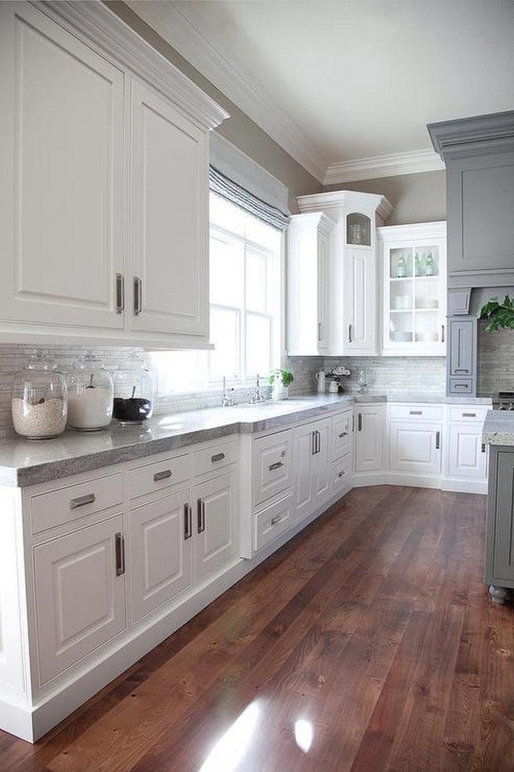 updated kitchen white kitchen designs 25 best ideas about Updated Kitchen on Pinterest Painting cabinets Kitchen cupboard redo and Oak cabinets redo