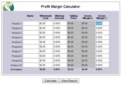 Profit margin calculator | Retail | Pinterest | Java