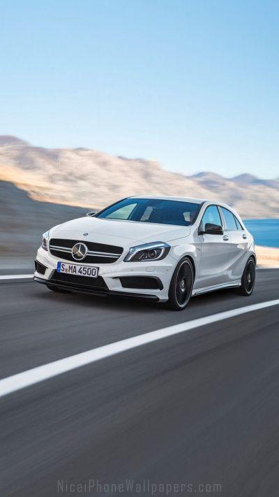 Mercedes-Benz A-class A45 AMG iPhone 6/6 plus wallpaper ...