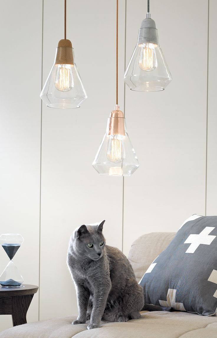 copper pendant lights copper pendant light kitchen The Beacon Lighting Ando pendant with copper lampholder and clear covered copper cabling and glass shade