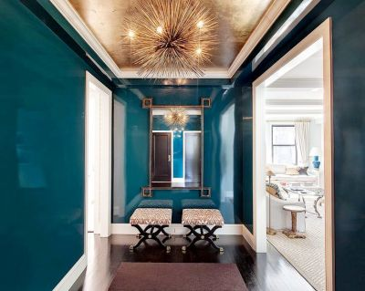 Best 25+ Gold ceiling ideas on Pinterest | Fake fireplace, Tropical bathroom mirrors and Modern ...