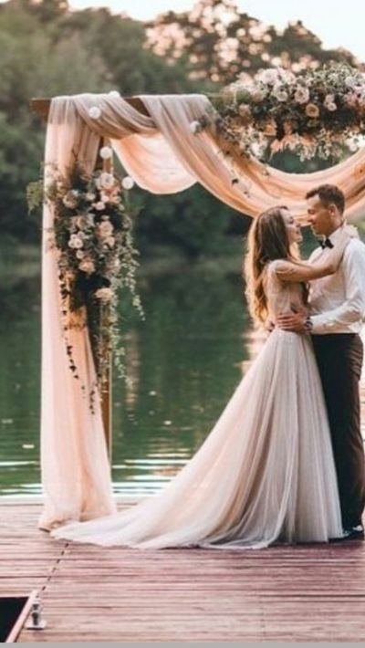 25+ best ideas about Wedding arch tulle on Pinterest ...