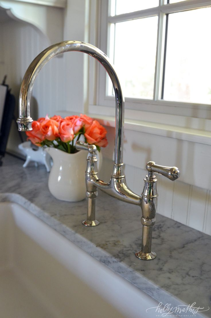 kitchen sinks rohl kitchen faucet its Rohl and yes it s an investment but a bridge faucet does really look great
