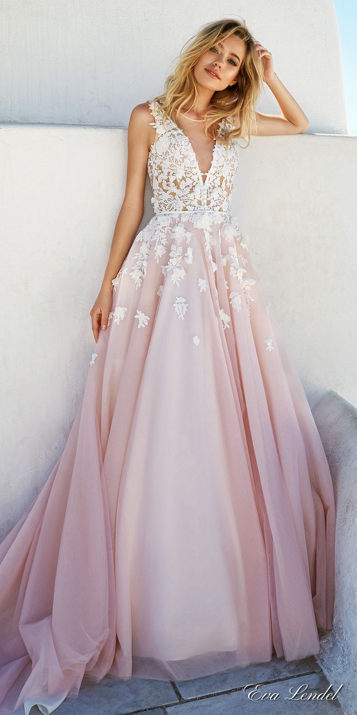 pink wedding dresses wedding dressing Blush wedding dresses