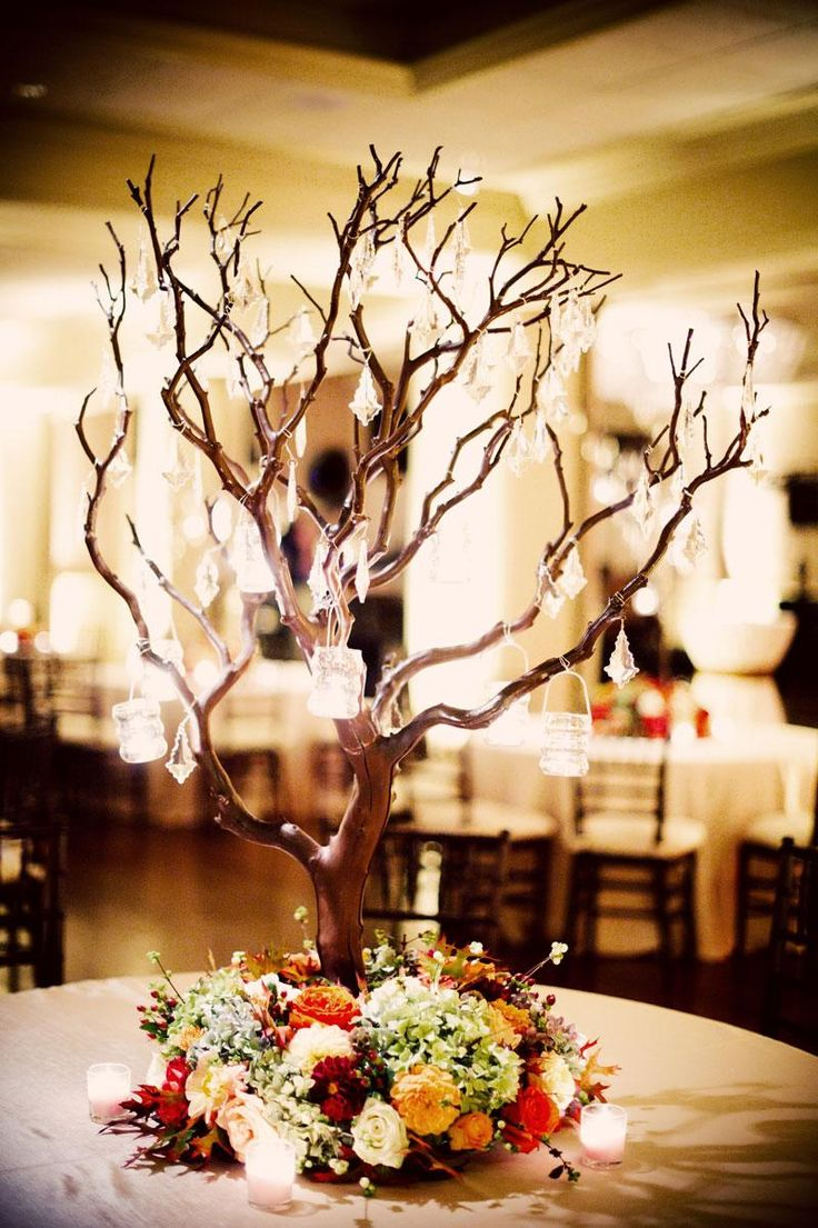 tree centerpieces centerpieces for wedding 25 Best Ideas about Tree Centerpieces on Pinterest Tree wedding centerpieces Winter table centerpieces and White special dinner sets