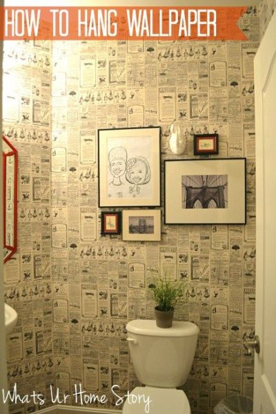 17 Best ideas about Newspaper Wallpaper on Pinterest | Newspaper wall, Pub ideas and Old ...