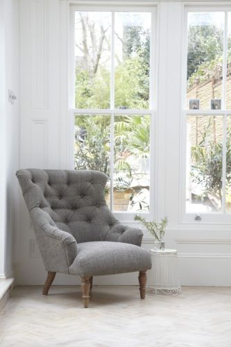 grey chair grey kitchen chairs The Designer Is In A Scandi Kitchen in a London Victorian