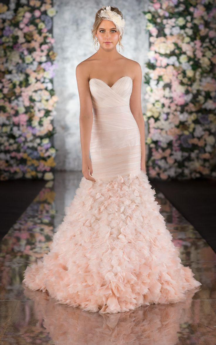 thats my dress ombre wedding dress Martina Liana Pink ombre wedding gown Love this
