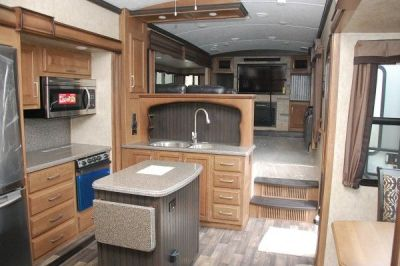 25+ best ideas about Fifth wheel living on Pinterest | 5th wheel travel trailers, Fifth wheel ...