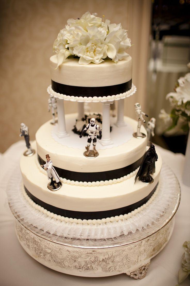 star wars wedding cake star wars wedding bands star wars wedding cake changing the black stripe into a royal blue stripe instead