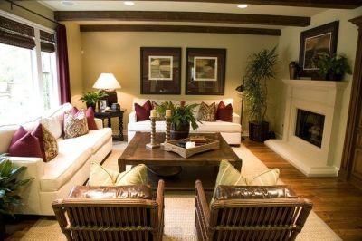 tropical decorating ideas | Elegant Tropical Interior ...