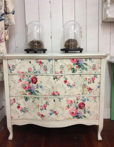 17 Best ideas about Wallpaper Cabinets on Pinterest | Colorful wallpaper, Wallpaper drawers and ...