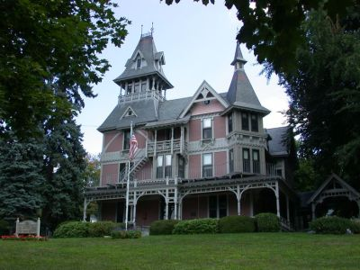 victorian+homes | Guide to Stick Style Architecture - Claire T. Carney Library ... | Victorian ...