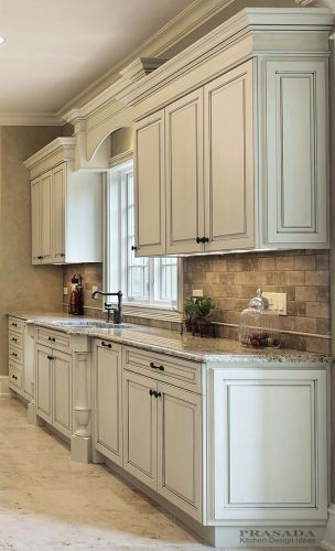classic kitchen cabinets white cabinet kitchen Kitchen Design Ideas White Glazed Cabinets